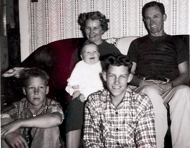 Roth Family, Christmas 1955